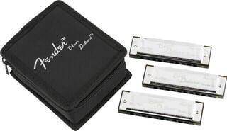 Fender Blues Deluxe 3 Pack Diatonikus szájharmonika