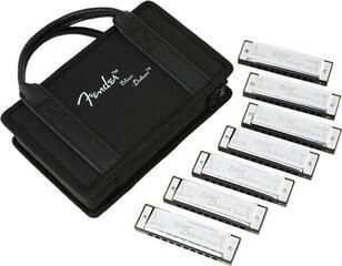 Fender Blues Deluxe 7 Pack Diatonikus szájharmonika