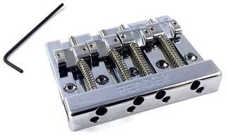 Fender HiMass 4-String Bass Bridge Assembly With Brass Saddles