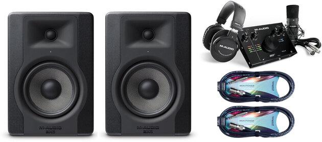 M-Audio BX5 D3 SET Čierna