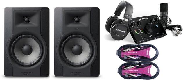 M-Audio BX8 D3 SET Čierna