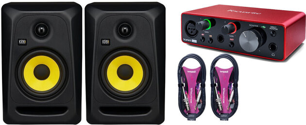 KRK Classic 5 Audio SET