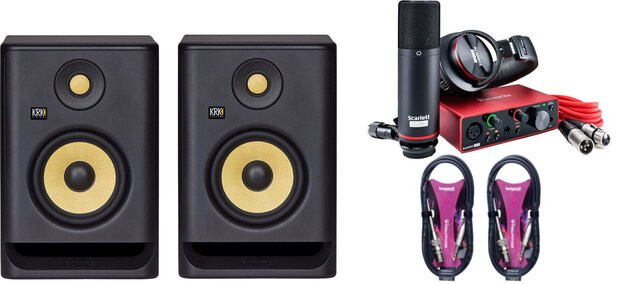 KRK Rokit 5 G4 Studio SET
