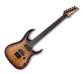 Ibanez RGA42FM-DEF Dragon Eye Burst Flat