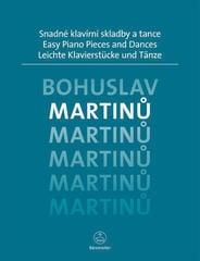 Bohuslav Martinů Easy Piano Pieces and Dances