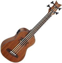 Ortega Lizzy Bass Ukulele Natural