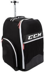 CCM 390 Player Wheeled Backpack Black
