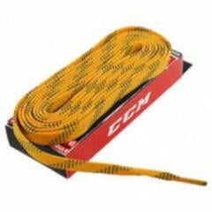 CCM Laces Proline Yellow Waxed 304