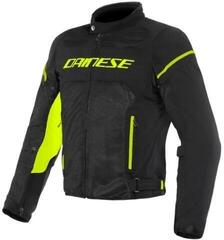 Dainese Air Frame D1 Tex Jacket Black/Black/Fluo Yellow