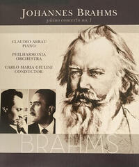 Johannes Brahms Piano Concerto No.1 In D Minorité Op. 15 (Vinyl LP)