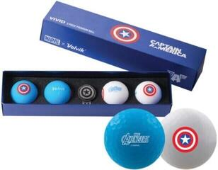 Volvik Marvel 4 Ball Pack Captain America