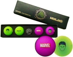 Volvik Marvel 4 Ball Pack Hulk
