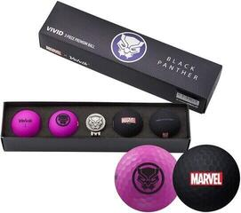 Volvik Marvel 4 Ball Pack Black Panther