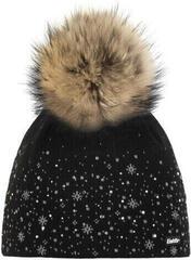 Eisbär Rana Fur Crystal Beanie Black/Grey