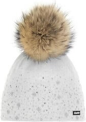 Eisbär Rana Fur Crystal Beanie White/Light Grey