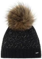 Eisbär Pansy Fur Beanie Black/Black