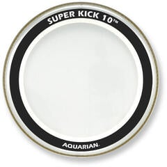 Aquarian 22'' Super Kick 10 Clear Bass Drumhead