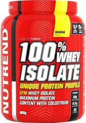 NUTREND 100 % Whey Isolate 900g Banán