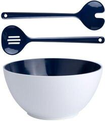 Marine Business Salad Bowl with Cutlery Summer Blue
