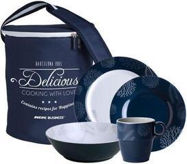 Marine Business Melamine Kitchenware Pack 24 pcs
