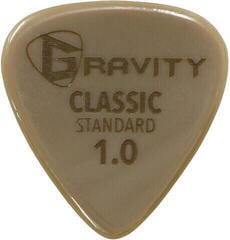 Gravity Picks GGCLS10 Classic Gold Standard 1.0mm Polished Tan