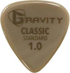 Gravity Picks GGCLS10 Classic Gold Standard 1.0mm Polished Tan