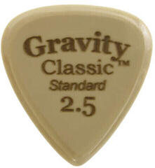 Gravity Picks GGCLS25 Classic Gold Standard 2.5mm Polished Tan