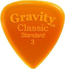 Gravity Picks GCLS3P Classic Standard 3.0mm Polished Orange