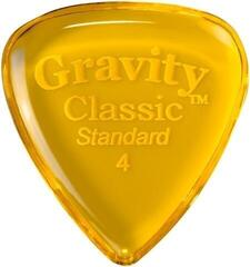 Gravity Picks GCLS4P Classic Standard 4.0mm Polished Yellow