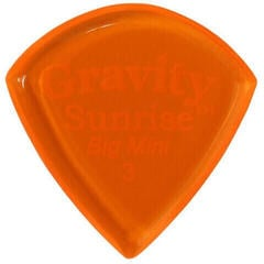 Gravity Picks GSUB3P Sunrise Big Mini 3.0mm Polished Orange