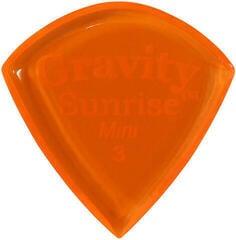 Gravity Picks GSUM3P Sunrise Mini 3.0mm Polished Orange