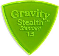 Gravity Picks GSSS15P Stealth Standard 1.5mm Polished Fl. Green
