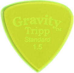 Gravity Picks GTRS15P Tripp Standard 1.5mm Polished Fl. Green