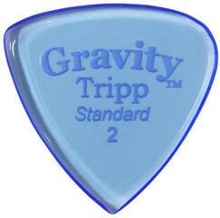 Gravity Picks GTRS2P Tripp Standard 2.0mm Polished Blue