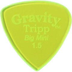 Gravity Picks GTRB15P Tripp Big Mini 1.5mm Polished Fl. Green