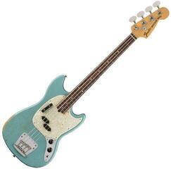 Fender JMJ Mustang Bass RW Faded Daphne Blue