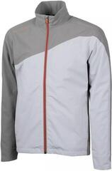 Galvin Green Aaron Gore-Tex Mens Jacket Cool Grey/Sharkskin/Red Orange M