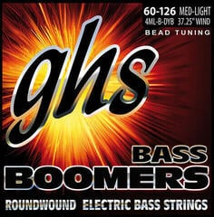 GHS 4ML-B-DYB BEAD Tuned Bass Boomers Medium Light