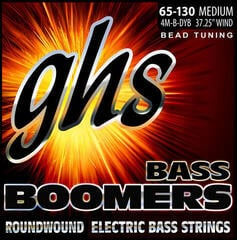 GHS 4M-B-DYB BEAD Tuned Bass Boomers Medium