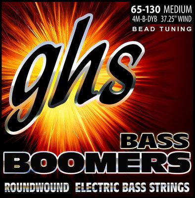 GHS 4M-B-DYB BEAD Tuned Bass Boomers Medium