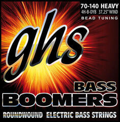 GHS 4H-B-DYB BEAD Tuned Bass Boomers Heavy
