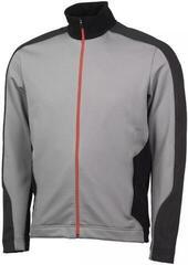 Galvin Green Dirk Mens Jacket Sharkskin/Black/Red Orange