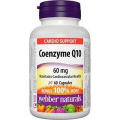 Webber Naturals Coenzyme Q10 60