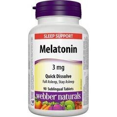 Webber Naturals Melatonin 90