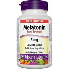 Webber Naturals Melatonin 60