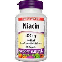 Webber Naturals Niacin B3 500 mg 90 tbl.
