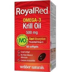 Webber Naturals Omega 3 Royal Krill Oil 500 mg IVO cert. 60 tbl.