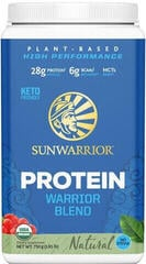 Sun Warrior Warrior Blend Organic Protein Natural 750 Grams