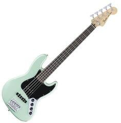 Fender Deluxe Active Jazz Bass V Pau Ferro Surf Pearl
