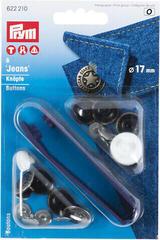 PRYM Jean Buttons Brass